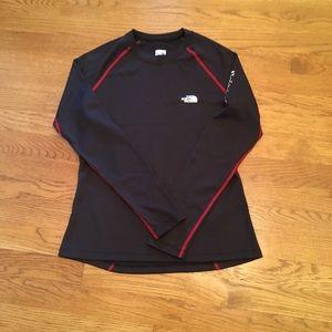North Face Black long sleeve tech shirt women's